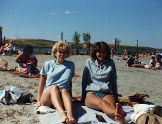 1985 Susan and Carolin