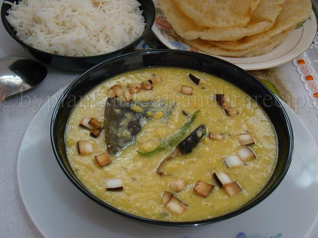 Bengali chooler dal