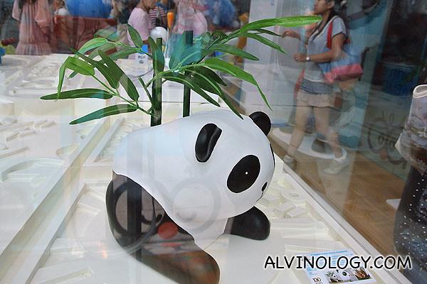Panda pot