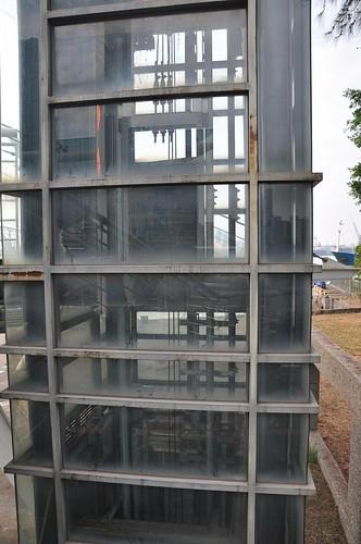 壞掉的電梯@新光碼頭(海洋之星)