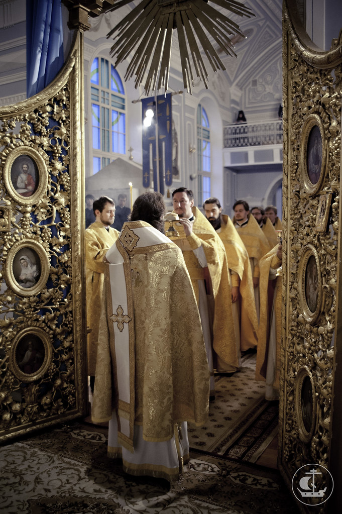5 ноября 2012, Литургия апостола Иакова, брата Господня