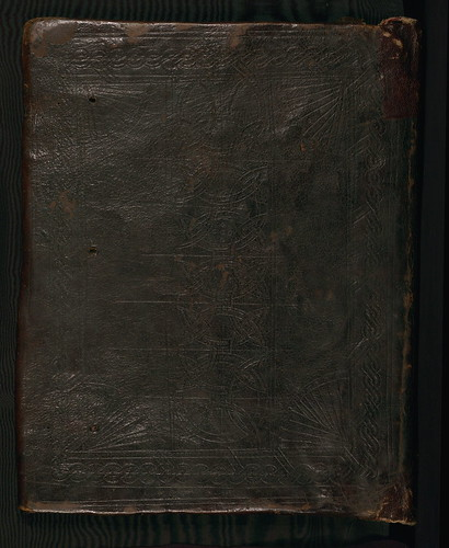 Gospels, binding, Walters Manuscript W.537, Lower board outside by Walters Art Museum Illuminated Manuscripts