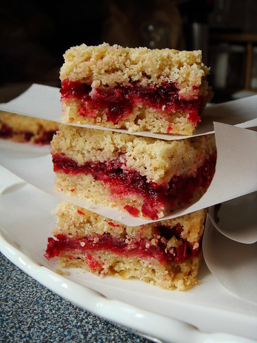 Cranberry Crumb Bar with Mulling Spices