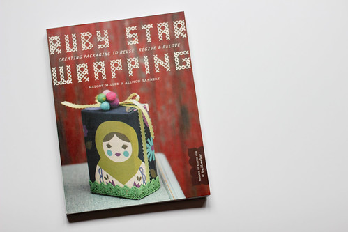 Ruby Star Wrapping by Jeni Baker