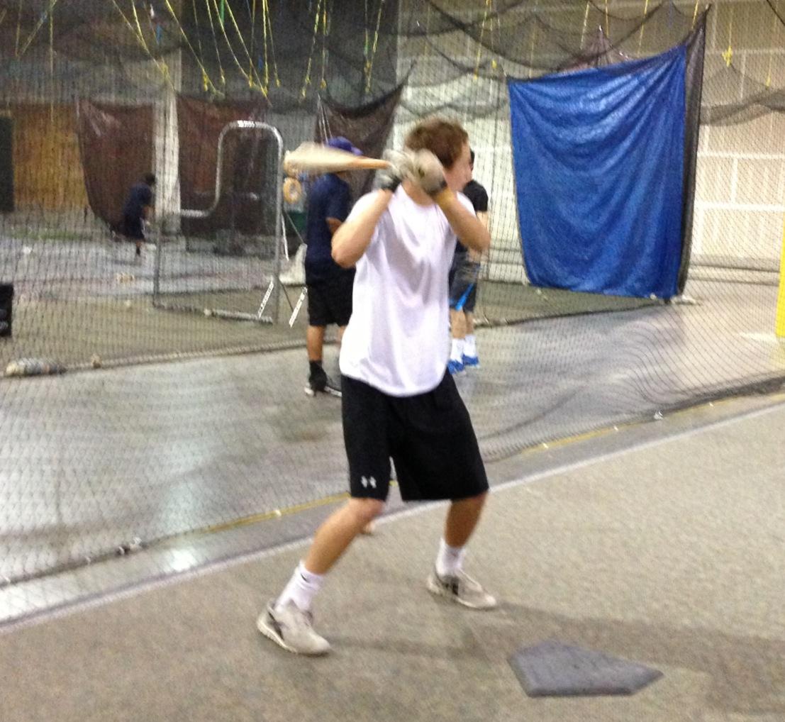 At the Bat Cage