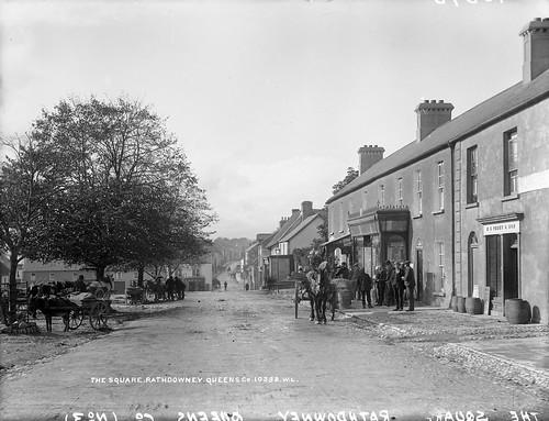 The Square, Rathdowney, Co. Laois, circa 1900