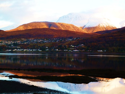 Loch Linnhe and Fort William