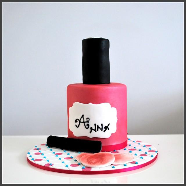 Nail Polish Bottle Cake: Flickriver: Cakes 'n Cards Pool