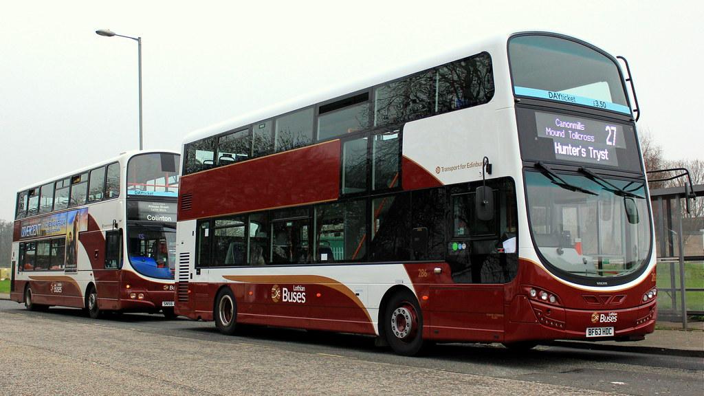 Lothian Buses 286 | BF63 HDC