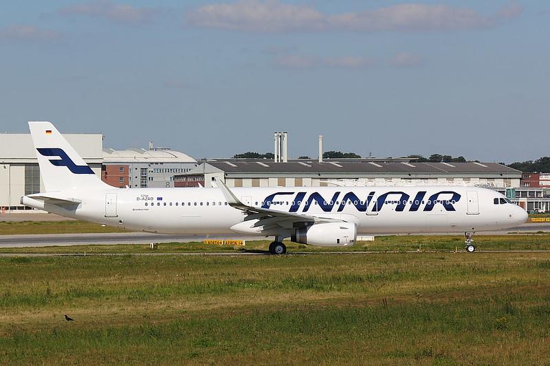 Finnair - A321 - D-AZAO (2)