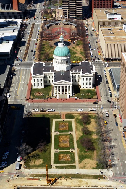 Old Courthouse, from the Arch