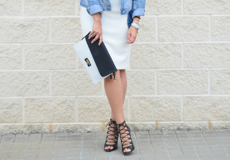 florenciablog midi skirt gandia bloggers fashionbloger working girl inspirationwhite pencil skirt