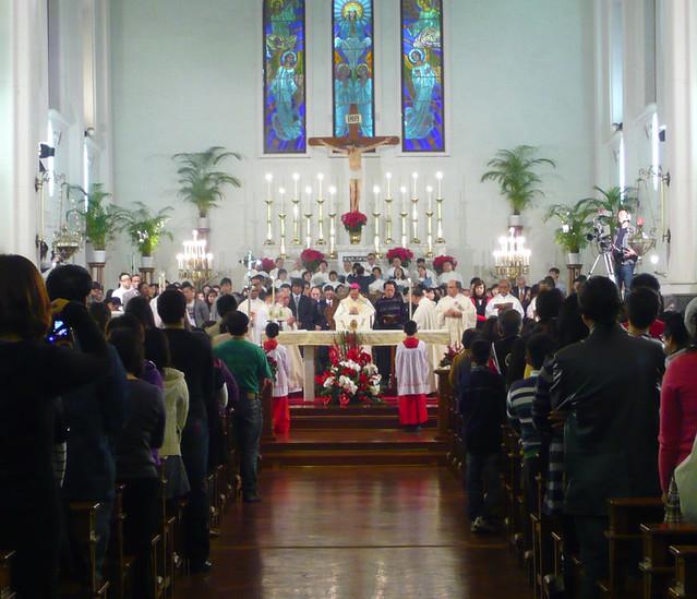 Picture 6_Midnight mass at Catedral Igreja da Sé in Macau