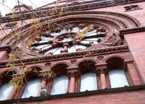Central Rose Window – Our Saviour New York, Midtown Parish