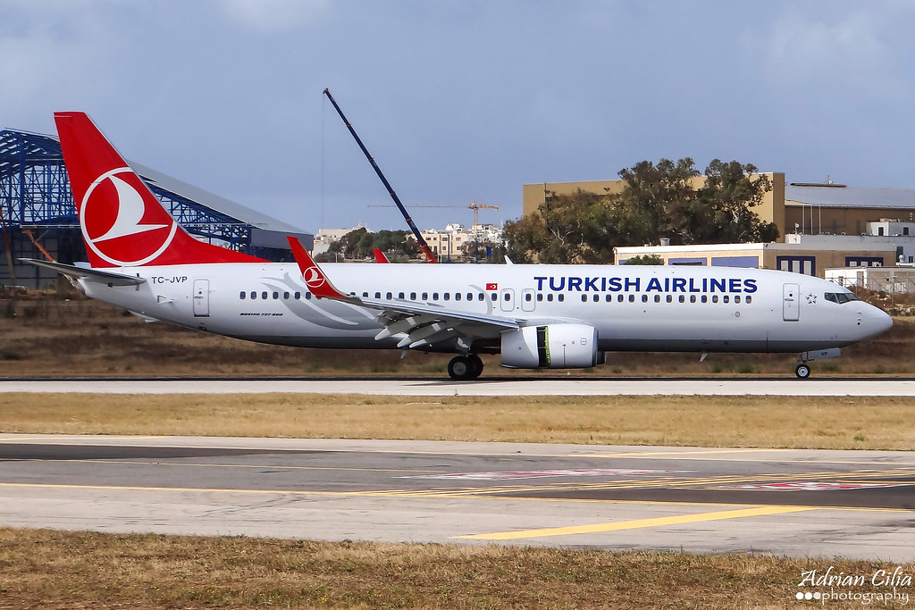TC-JVP - B738 - Turkish Airlines
