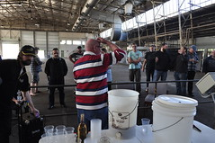 Canberra Brewers Inc. posted a photo:	Making Mead Demo @ Home