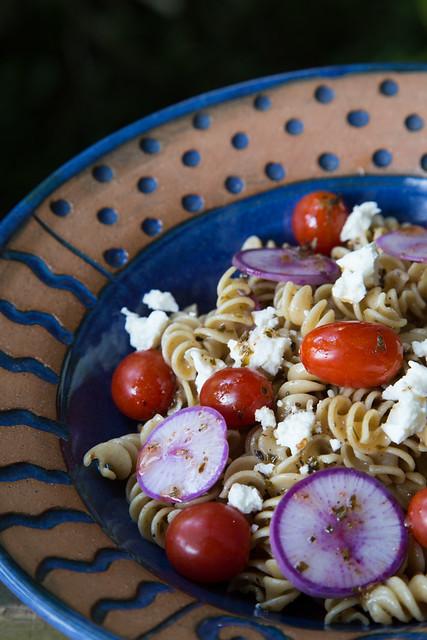 Pretty pasta salad