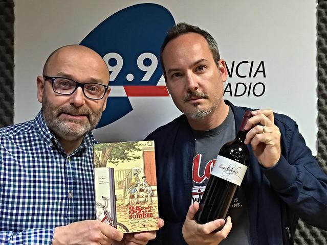 """Bodega Chozas Carrascal las 5 de 35 grados a la sombra Nacho García \""""Nas\"""" Todo irá bien Paco Cremades"""