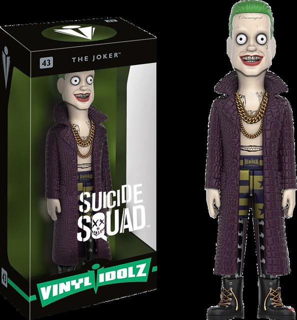 瘋狂!可愛!又危險!Vinyl Idolz《自殺突擊隊》小丑 Suicide Squad - The Joker