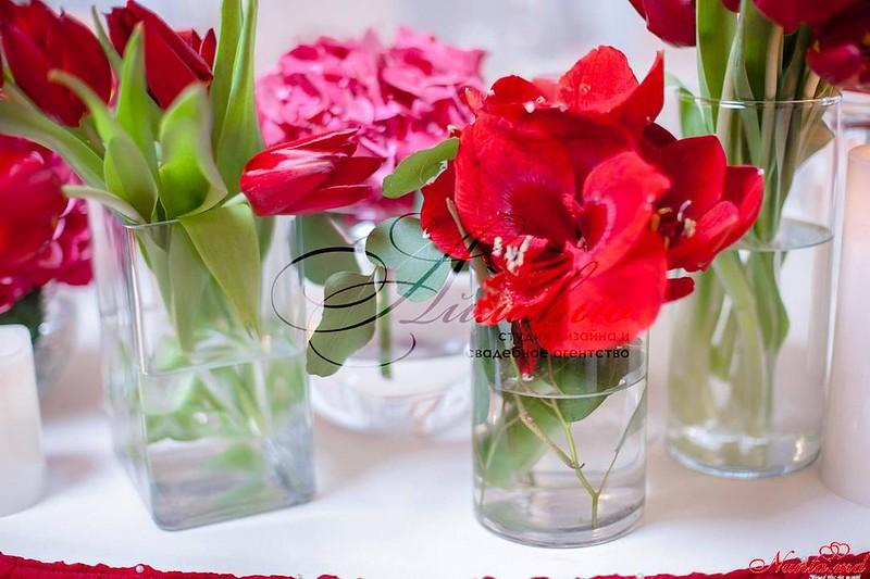 """Decor pentru nuntă şi floristică de la Agentia  """"Айлавью""""  > Decor senzual şi nobil de la Agenţia I love you!"""