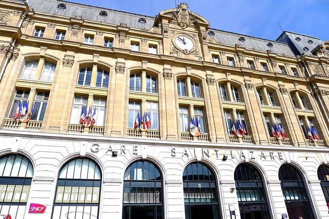 inauguration saint lazare paris shopping centre centre commercial flickr photo sharing. Black Bedroom Furniture Sets. Home Design Ideas