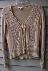 art, textile, brown, clothing, sleeve, outerwear, cardigan, sweater,