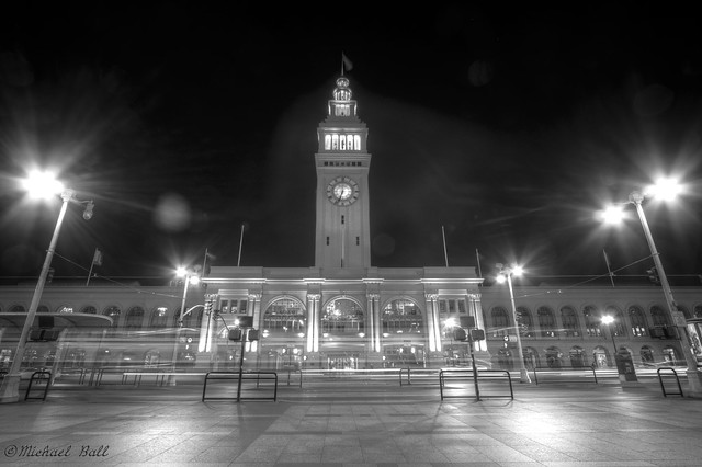 Busy Day at the Ferry Building