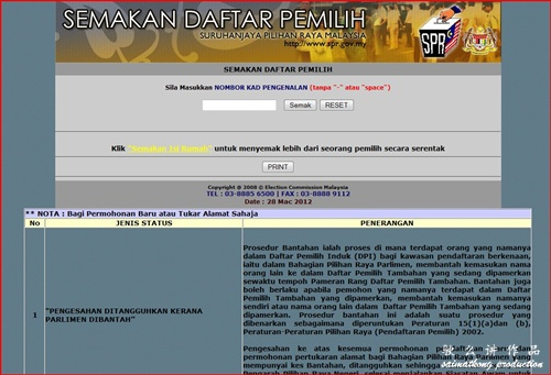 Check Your Voter Status – Semakan Daftar Pemilih Suruhanjaya Pilihan Raya Malaysia (SPR) – Register Today!
