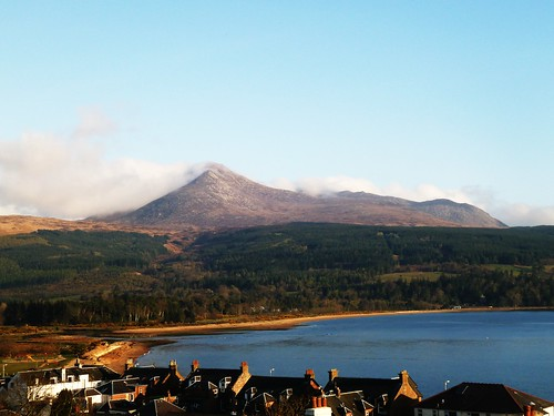 Brodick Bay with Goat Fell, Isle of Arran