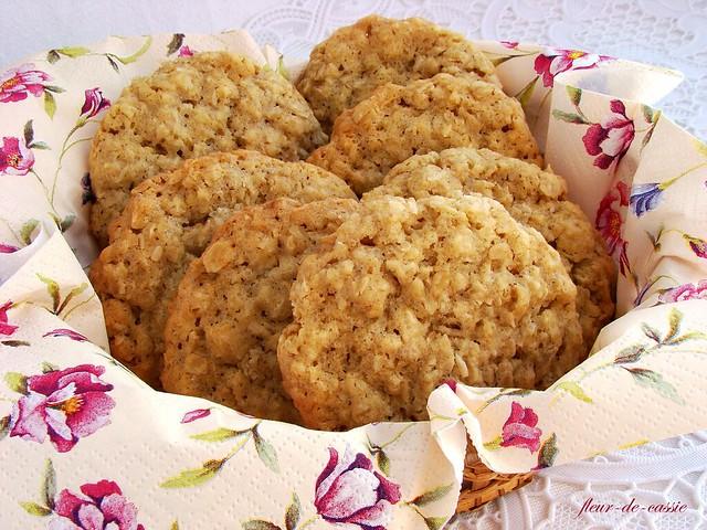 овсяное печенье с кокосом 1