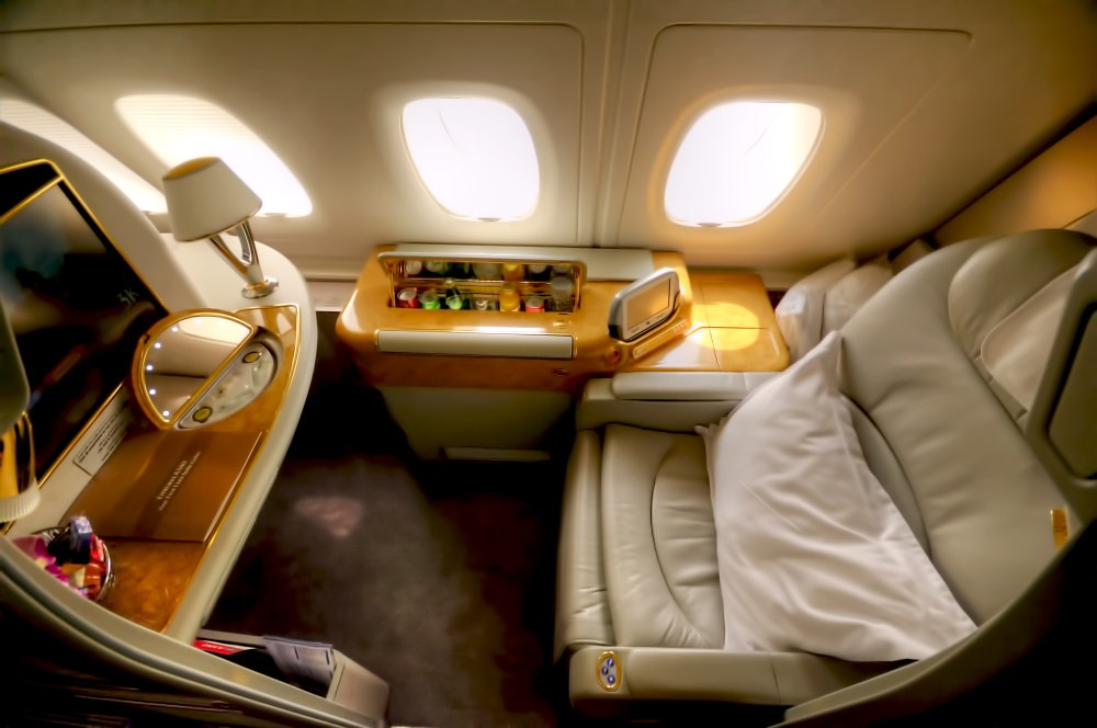 Emirates A380 First Class Suites HD Experience