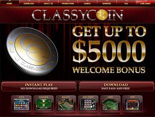 Classy Coin Casino Home