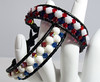 MTV Bracelets Red, White and Blue 281