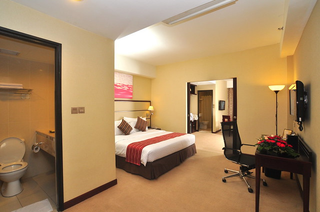 Silka Johor Bahru Executive Club Room with King Size Bed