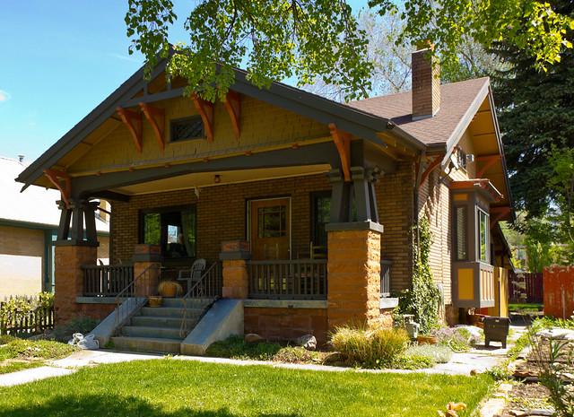Red sandstone craftsman bungalow explore photo dean 39 s for Craftsman cottage