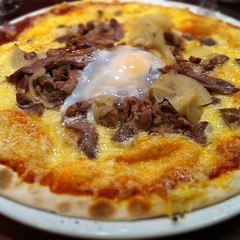 breakfast, pizza, meat, food, dish, european food, cuisine, cottage pie,