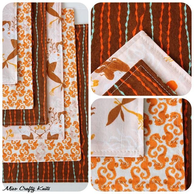 Mendocino Handkerchiefs - Corners