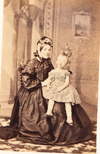 Unknown Lady with Child.
