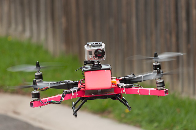 Quadcopter with GoPro Camera