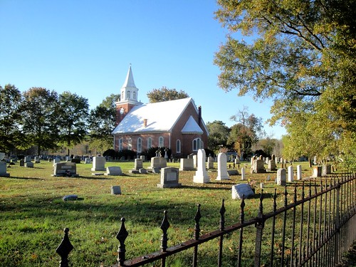 Christ Episcopal Chuch and grave yard, Chaptico