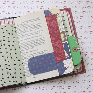 Upcycled Book Turned Mini Album