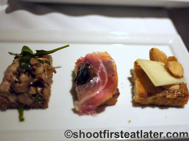 Fig & Olive- 3 kinds of crostini