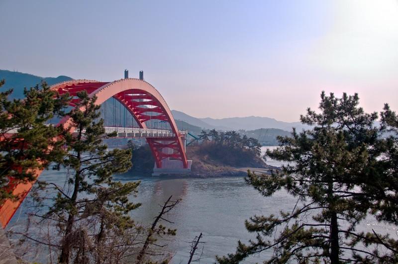 Bridge from Namhae Do