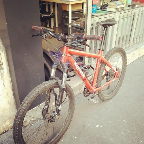 Toujours le même plaisir de venir en vélo :)