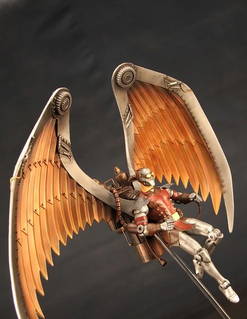 Steam Punk Archangel by Pack Rat Studios