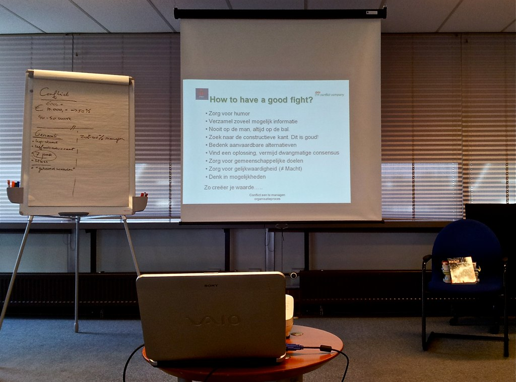 Workshop 'Omgaan met conflicten' bij OndernemersRijk