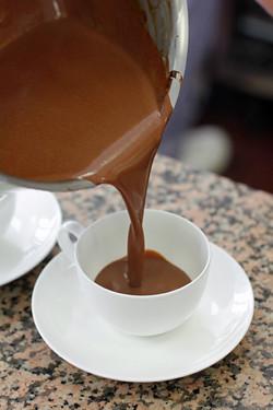 Jacques Genin'a chocolat chaud