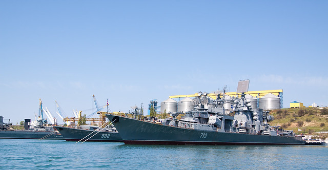"Russian Destroyer 713 ""Kerch\"""