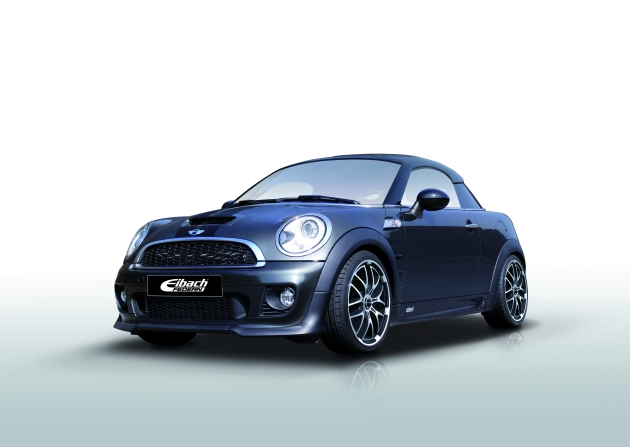 Eibach suspension components for the Mini Coupé