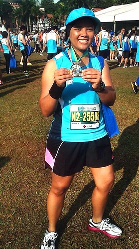 SCKLM 2012 - Me & My 10k finisher's medal